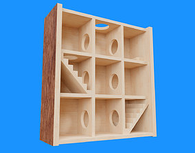 Hamster Game Maze 3D model