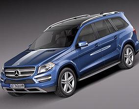 3D Mercedes GL 2013 4x4