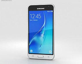 Samsung Galaxy J3 2016 White 3D