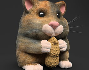 3D Hamster Toy with Peanut
