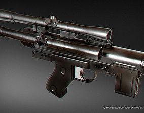 3D printable model SE-14C blaster pistol