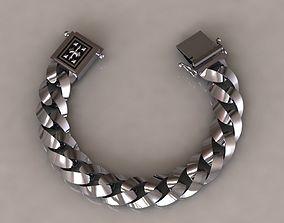 chain bracelets 06 3D printable model