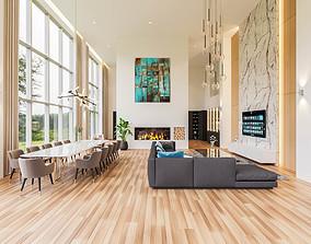 3D asset Modern penthouse