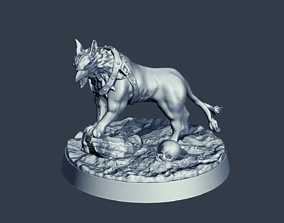 Twin Tail Gryph Dog - 3D Print Model