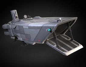 Star Wars Transporter - Atmospheric Assault Lander 3D