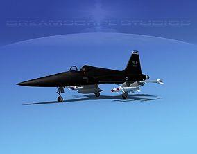 Northrop F-5E Tiger V01 USAF 3D