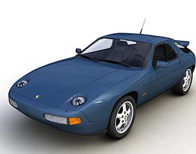 PORSCHE 928 GTS 1992 3D sport