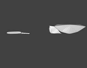 Dimetrodon Loomisi Head STL 3D print model