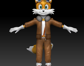 3D model Tails Prower