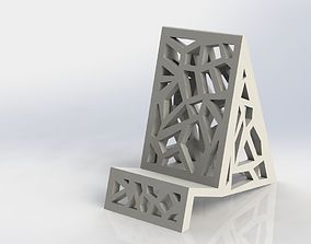 Glass Phone Holder 2 iphones 3D print model