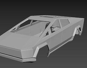 Tesla CyberTruck 3D printable model