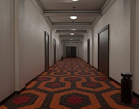 3D asset Overlook Hotel Corridor
