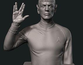 miniatures 3D print model Spock Leonard Nimoy Bust