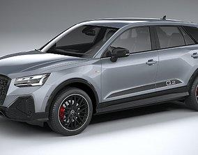 3D Audi Q2 S-Line 2021