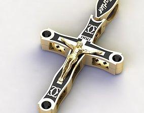 Cross fashionable 3D printable model