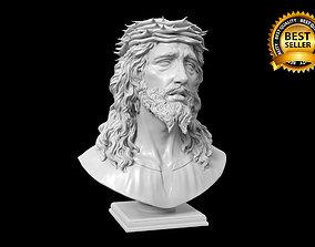 Jesus bust bible 3D printable model