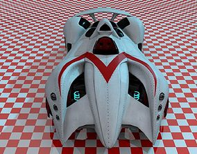 Mach 6 3D model