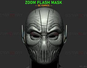 Zoom Flash Mask - Hunter Zolomon 3D printable model 3