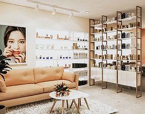 Spa salon interior 3D model