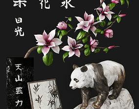 Panda 3D hieroglyph