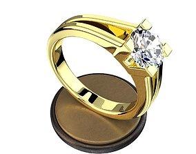 3D print model ring for wending