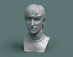 3D printable model sculpture John Lennon 1965