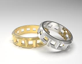 3D printable model T True Rings 4-1-2 to 8-1-2 US