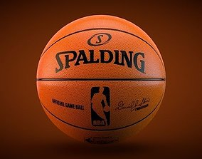 3D Spalding Official NBA Ball