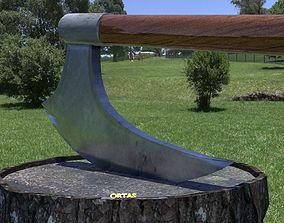 ORTAS AXE NO 7 HUGE REALISTIC AXE 3D PRINTABLE toys