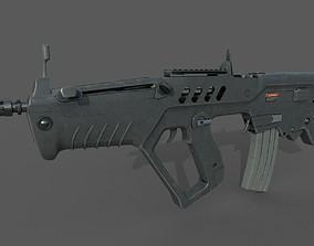 Tar-21 Tavor21 Assault Rifle 3D asset