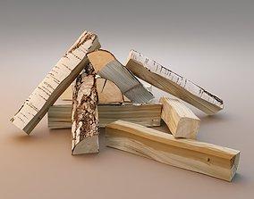 3D asset realtime Firewood