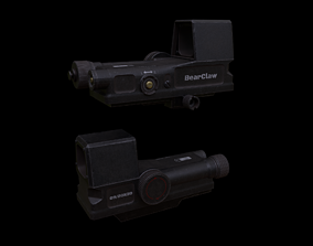 BearClaw Holographic Sight 3D asset