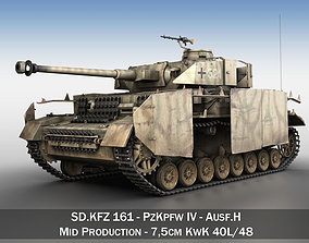 PzKpfw IV - Panzer 4 - Ausf H Late 3D model