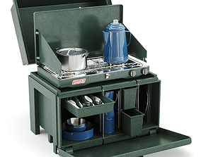 3D The Chuck Box Camp Kitchen
