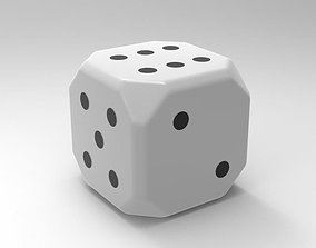 gambling Dice cube 3D model