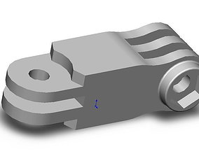 Gopro Mount 3D printable model
