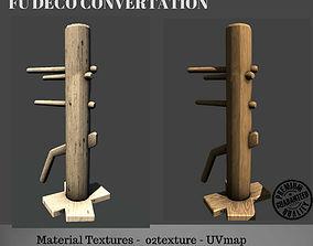 3D model convertation wood punish