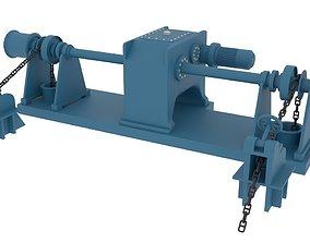 windlass 3D asset