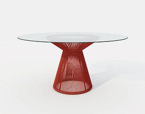 TIDELLI CONICA ROUND TABLE 3D