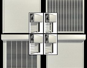 Roll shutter systems 3D