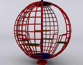 Play Ground Sphere Max 2011 3D model