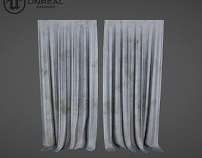 3D asset Curtain dirty
