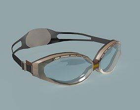 Goggles concept design 3D asset