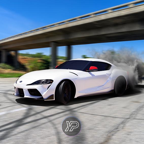 Drift 2020 Toyota Supra GR