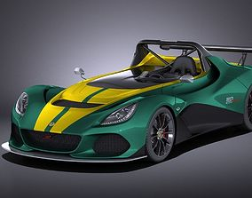 3D model Lotus 3-eleven 2017 VRAY