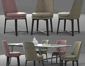 3D model Flexform Dining Set