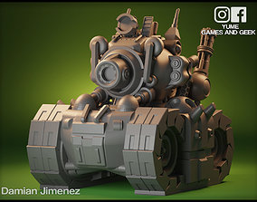 Metal Slug Tank Key Chain 3D Print model
