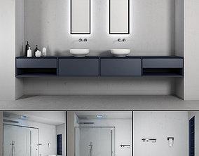 3D Bathroom furniture set Panta Rel 2