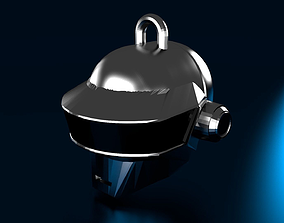 R3 Daft Punk Thomas Helmet Keychain 3D print model
