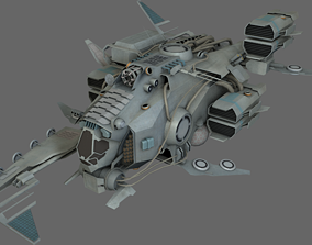Pirate Ship MS 3D asset